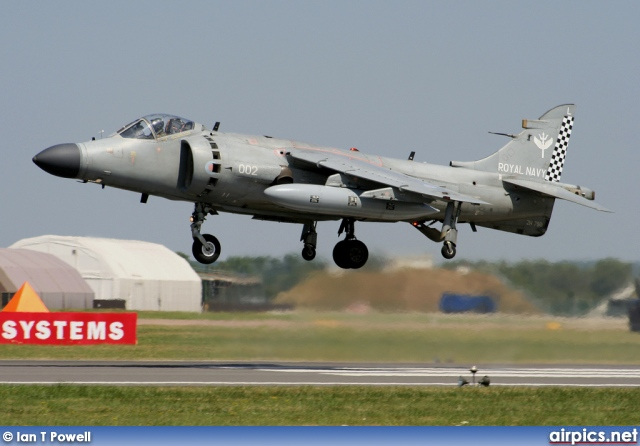 ZH798, British Aerospace Sea Harrier-FA.2, Royal Navy - Fleet Air Arm