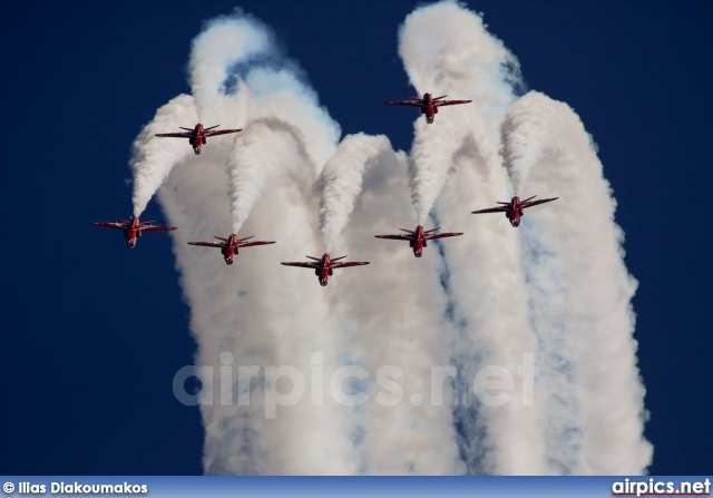 British Aerospace (Hawker Siddeley) Hawk-T.1, Red Arrows