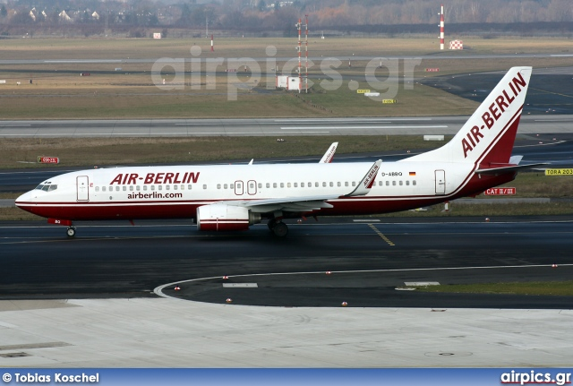 D-ABBQ, Boeing 737-800, Air Berlin
