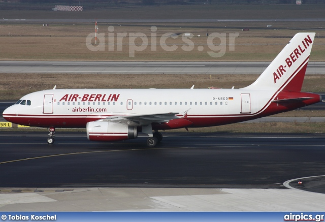 D-ABGD, Airbus A319-100, Air Berlin