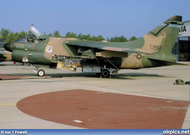 72-0198, Ling-Temco-Vought A-7-D Corsair II, United States Air Force
