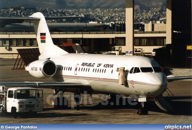 KAF 308, Fokker 70, Republic of Kenya