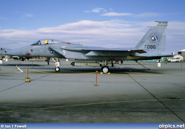 76-0086, Boeing (McDonnell Douglas) F-15-A Eagle, United States Air Force