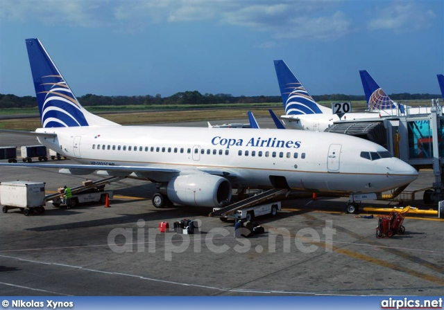 HP-1525CMP, Boeing 737-700, Copa Airlines