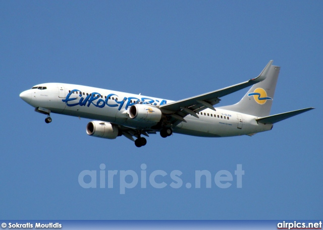 C-GLBW, Boeing 737-800, Eurocypria Airlines