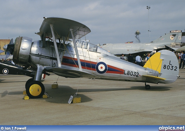 G-AMRK, Gloster Gladiator, Private