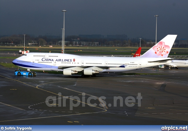 B-18207, Boeing 747-400, China Airlines
