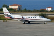YU-BVV, Cessna 550-Citation II, Private