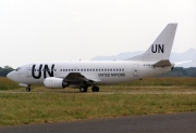 4L-TGA, Boeing 737-500, United Nations