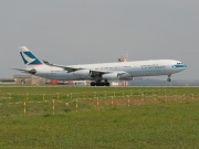 B-HXH, Airbus A340-300, Cathay Pacific