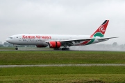 5Y-KQS, Boeing 777-200ER, Kenya Airways