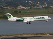 D-AGPA, Fokker F100, Germania