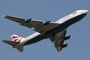 G-BNLN, Boeing 747-400, British Airways