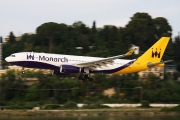 G-SMAN, Airbus A330-200, Monarch Airlines