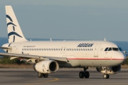 SX-DVV, Airbus A320-200, Aegean Airlines