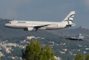 SX-DVT, Airbus A320-200, Aegean Airlines