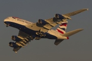 G-XLEG, Airbus A380-800, British Airways