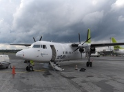 YL-BAW, Fokker 50, Air Baltic