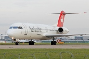 HB-JVF, Fokker F100, Helvetic Airways