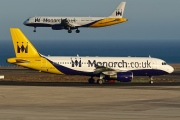 G-MRJK, Airbus A320-200, Monarch Airlines