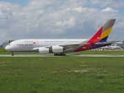 F-WWSQ, Airbus A380-800, Asiana Airlines