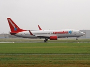 PH-CDF, Boeing 737-800, Corendon Dutch Airlines
