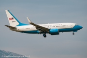 05-0932, Boeing C-40-B (737-700/BBJ), United States Air Force
