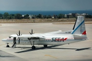 SX-BSF, Fokker 50, South East European Airlines - SEEA