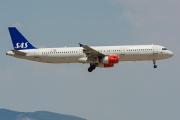 OY-KBK, Airbus A321-200, Scandinavian Airlines System (SAS)